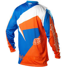 customized motocross jerseys troy lee designs new tld mx gear gp air vega blue orange motocross