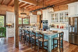 log home interior design a log cabin gets an invisible addition