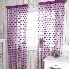 Tassel Curtain Adorable Coronary Heart Line Tassel String Doorway Curtains