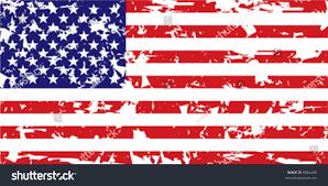 Ripped American Flag Vector Grunge American Flag Stock Vector 9096490 Shutterstock