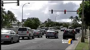 do traffic lights have sensors mistimed traffic light sensors cause big backups in hawaii kai youtube