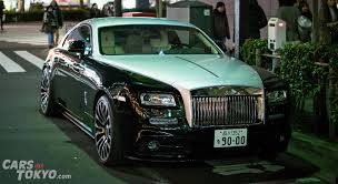 rolls royce wraith mansory 20 cars of ginza part 1 cars of tokyo