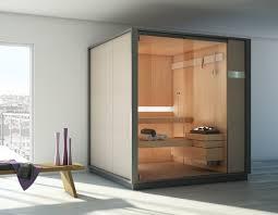 sauna in bagno logica sauna wood aluminum gres laminato and