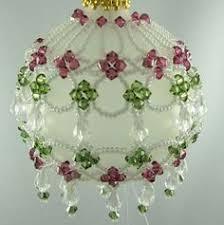 free beaded ornament patterns bugle bead santa express