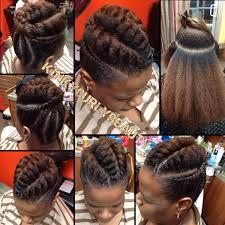 Chunky Flat Twist Hairstyles by Pretty Flat Twist Updo Http Community Blackhairinformation Com