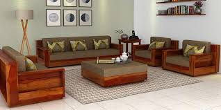 Wooden Sofa Sets For Living Room Wooden Sofa Set To Enhance Your House Bellissimainteriors