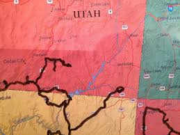 Kanab Utah Map by The Map The Careyvan