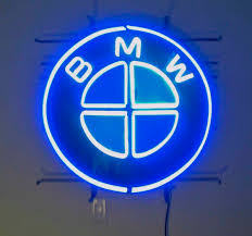 bmw logo bmw logo neon sign big 27 inch diameter