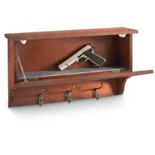 Wood Gun Cabinet Handgun Wooden Gun Cabinets U0026 Safes Ebay