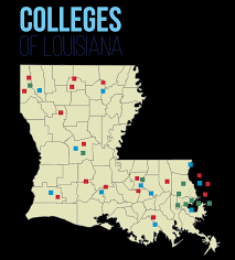 Louisiana Tech Map by Losfa Links To Louisiana Colleges And Other Useful Sites