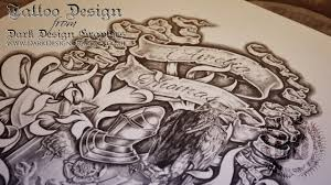 half sleeve family coat of arms from design graphics