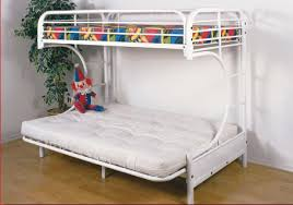 White Futon Bunk Bed White Futon Bunk Bed Design Space Ideas For