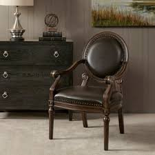 Antique Accent Chair Furniture Of America Antique Dark Cherry Accent Chair Free