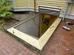exterior basement bulkhead doors u2014 new basement ideas classic