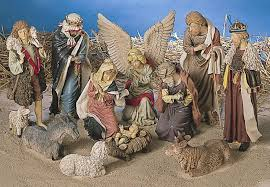 outdoor nativity set lb international large 12 outdoor nativity set with stable