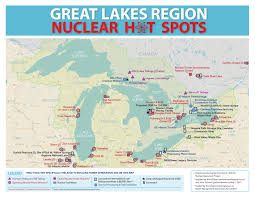 Map Of Great Lakes Nuclear Map Of The Great Lakes U2013 Friends Of Bruce