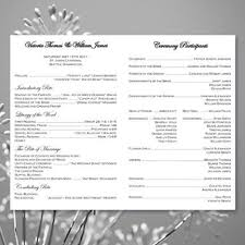 catholic church wedding program catholic church wedding program damask black white wedding