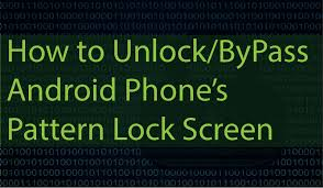 pattern lock using android debug bridge easily bypass crack unlock android pattern lockscreen pin or