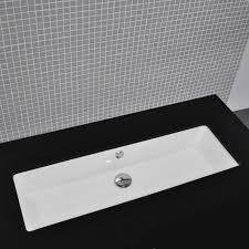 troff sinks bathroom sink with overflow bathroom sinks bath kitchen and beyond