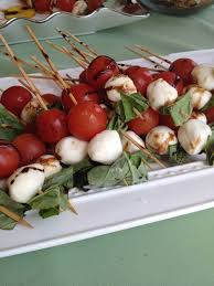Field To Table Catering Caprese Skewers With Balsamic U2014 Recipes Hubs