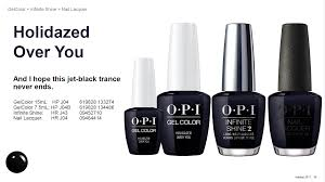 opi nail lacquer seasonal collection love opi xoxo limited