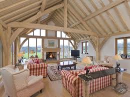 A Frame House Cost An Oak Framed Garage Swimming Pool House And Barn