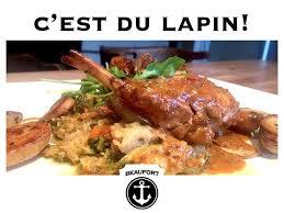 cuisine du lapin cuisse de lapin braisée sauce au vin picture of beaufort