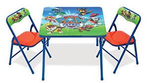 Amazon Com Paw Patrol Activity Table Sets Toys Games