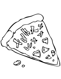 pizza coloring pages getcoloringpages com