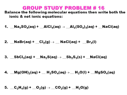 writing chemical equations ppt download