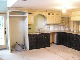 Black And White Kitchen Cabinets by Beauty Distressed White Kitchen Cabinets Design Ideas U0026 Decors