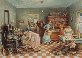 alberti s window thanksgiving rockwell and
