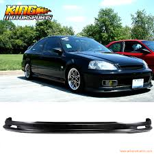 2000 honda civic spoiler aliexpress com buy front bumper lip spoiler wing bodykit pp fit