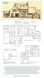 house plan 42820 at familyhomeplans com tudor plans with front