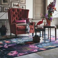 shadow floral rugs 58005 by ted baker free uk delivery the rug