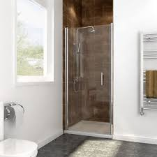 bifold shower door frameless frameless glass shower door ebay