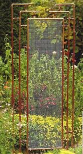 Wooden Trellis Plans These Metal Garden Trellises Are Beautiful With Or Without Plants