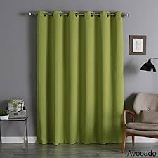 Curtains 80 Inches Long Amazon Com Best Home Fashion Thermal Insulated Blackout Curtains