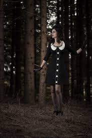 vintage blogger retrocat wearing the nightmare before christmas