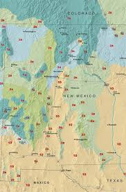 Gardening Zones By Zip Code - sunset climate zones new mexico sunset