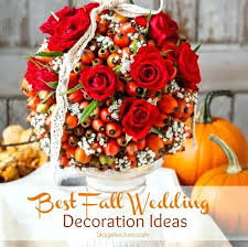 fall wedding decorations pictures fall wedding flowers wedding