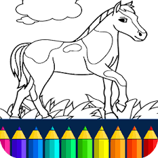 horse coloring book android apps google play