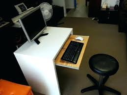 Computer Desks With Keyboard Tray Computer Desk Keyboard Slide Computer Desk Keyboard With Tray