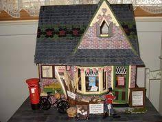 storybook cottage dollhouse diminutive dwellings pinterest