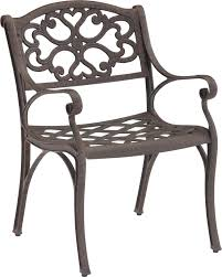 Biscayne Patio Furniture by Home Styles Biscayne 7 Piece Cast Aluminum Outdoor Dining Set