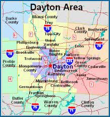 dayton map inspection service area greater dayton home inspector