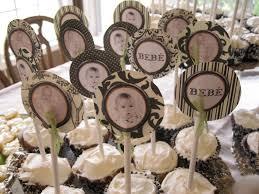 photo baby shower cake decorations image