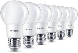 philips led light bulbs 60 x philips led frosted e27 edison 60w warm baltas light