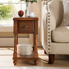 Corner Sofa Wood European And American Style Solid Wood Side Table Small Coffee