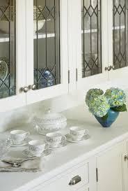 white leaded glass kitchen cabinets a kitchen makeover glass kitchen cabinets